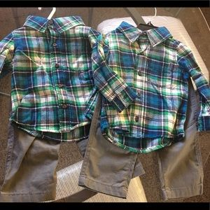 Carter's Matching Sets - *SOLD* Carters twin outfit set size 12 months